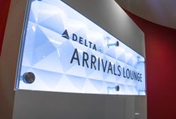 Delta Air Lines Signage